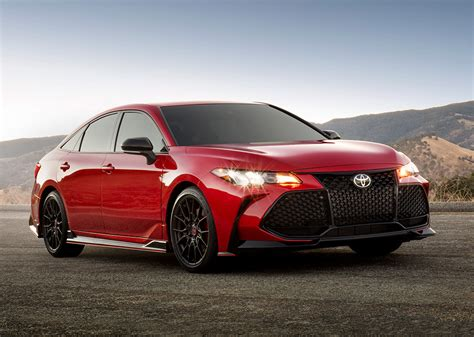 toyota camry 2020 2020 toyota camry avalon get trd tuned variants