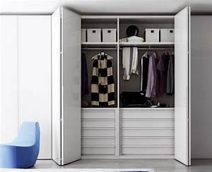 Kleiderschrank Mit Viel Stauraum : 60 kleiderschrank design ideen wie sie ihr schlaf oder ~ Whattoseeinmadrid.com Haus und Dekorationen