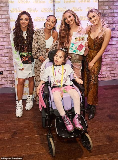 Little mix little mix always in my mind barcelona fan i'm a dancer i'm a thespian #thespiandubem. Little Mix grant wishes for seriously ill fans at Rays of ...
