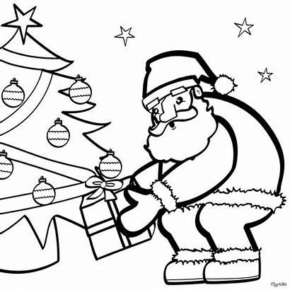 Santa Coloring Pages Noel Papa