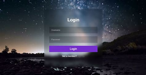 interesting css login form designs web graphic