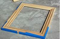 how to make picture frames How to Build a Custom Frame - Makely