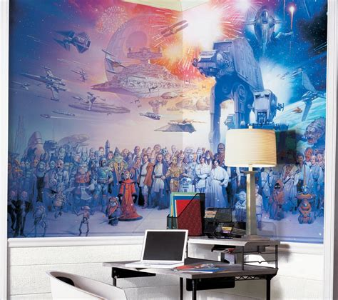 out the wars saga wall mural decor