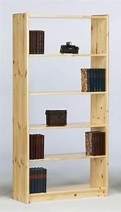 Bücherregal Holz Massiv : massivholz regal b cherregal b roregal 84x170 holz kiefer massiv lackiert ~ Markanthonyermac.com Haus und Dekorationen