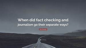 Jon Stewart Quo... Fact Check Quotes