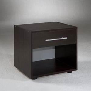 Table De Chevet Verre : table de chevet marron ~ Teatrodelosmanantiales.com Idées de Décoration