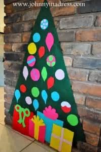 felt christmas tree ideas  inspiration