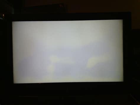 tv lcd manchas blancas