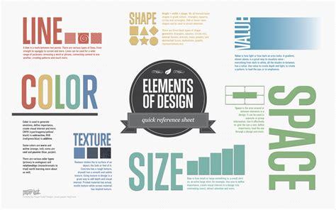 elements of design quick reference sheet paper leaf