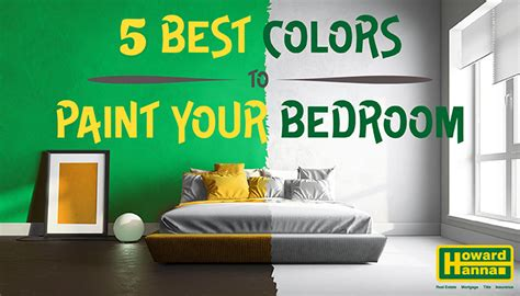best bedroom paint colors 5 best colors to paint your bedroom 14514 | MediaRoomBanner BestBedroomColors v2