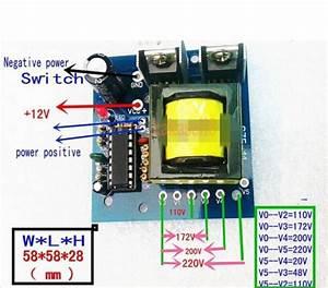150w Car Dc 12v To Ac 110v 220v Power Inverter Charger Converter Boost Board