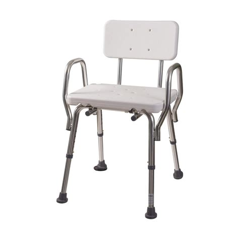 shower chair with backrest 522 1733 1900 the home depot