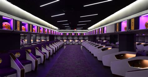lsus unveiling    football locker rooms brought