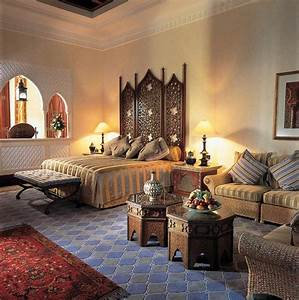 Modern, Interior, Design, In, Moroccan, Style, Blending, Chic, And, Comfort, With, Rich, Room, Colors