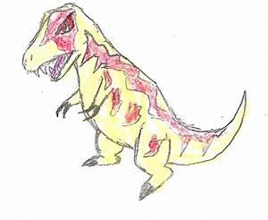Chibi DK Tarbosaurus by pika247 on DeviantArt
