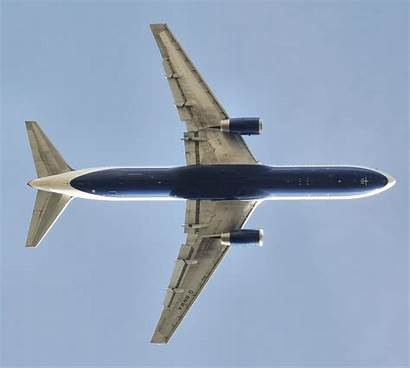 767 Boeing British Overhead Aircraft Airplane Wing