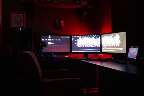 led lights for gaming setup my gaming setup