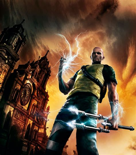Sucker Punch Releases New Infamous 2 Artwork Just Push Start