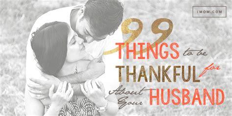 reasons   thankful   husband