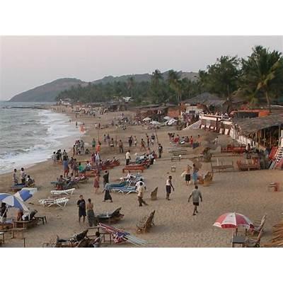 Image Of Anjuna Beach Goa - impremedia.net