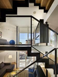 Split Level House - Modern - Staircase - philadelphia - by