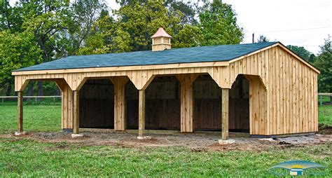 Run In Shed For Horses by Run In Sheds Horizon Structures
