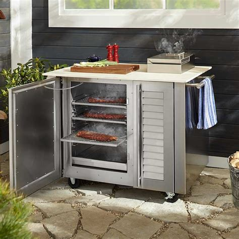 23+ Engaging Outdoor Kitchen With Smoker