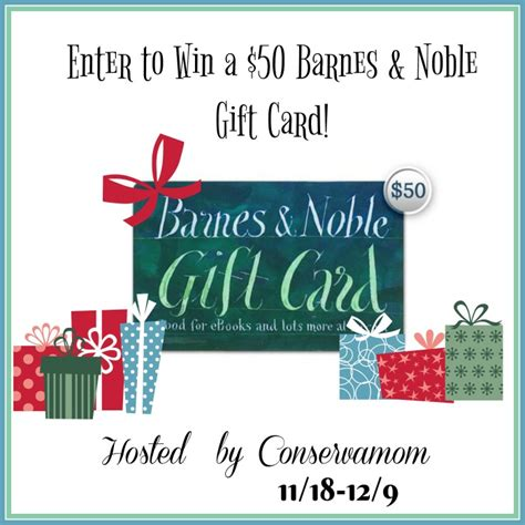barnes and noble gift card enter to win a 50 barnes noble gift card reviewz newz