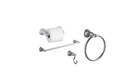 Kohler Kelston Faucet Manual by Kohler Kelston Better Accessory Pack 1 Cp Polished Chrome