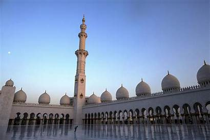 Mosque Abu Dhabi Landmarks Mary Mother Jesus