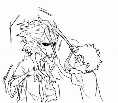Academia Hero Hair Mini Boku Dad Deku