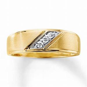 sterlingjewelers men39s diamond wedding band 1 10 ct tw With mens diamond wedding rings yellow gold