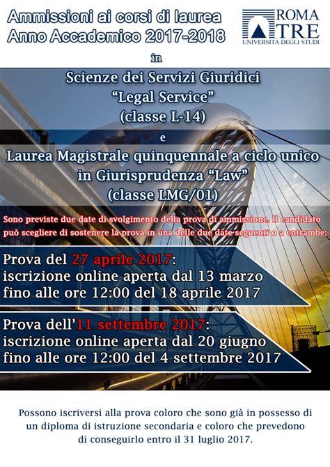 Test Ingresso Giurisprudenza Roma Tre by Orientamento Universitario