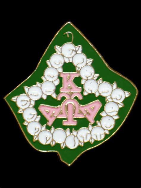 alpha kappa alpha ivy leaf lapel pin   greek shop