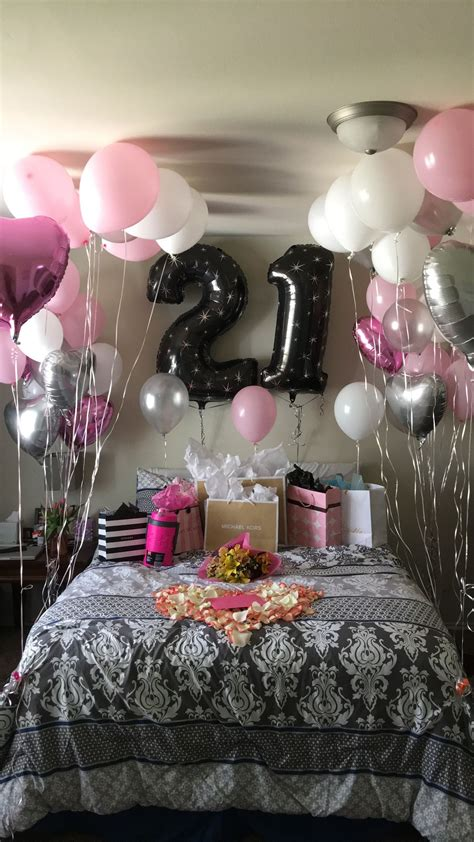 21st Birthday Surprise!  Girlfriends Birthday  Pinterest. Curtain Pelmet Ideas Uk. Hair Color Ideas Over 50. Hairstyles Prom. Shop Display Ideas Interior Design. Patio Ideas Using Sleepers. Proposal Ideas At Disneyland. Kitchen Furniture Ideas At Low Prices. Feature Wall Ideas B&q