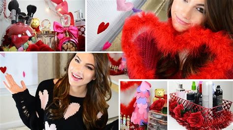 diy valentines day room decorating ideas youtube