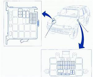 1998 Isuzu Trooper Fuse Box Diagram