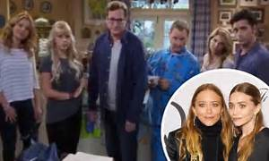 Fuller House cast takes aim at the Olsen Twins in first ...
