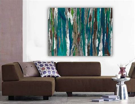 Wall Art Canvas Print Wine Old Winery Cellar Barrels: Saatchi Art: Large Contemporary Original Abstract Tree