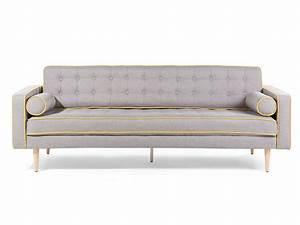 3 Er Sofa : sofa grau couch 2er sofa 3er sofa stoffsofa zweisitzer wohnzimmer polyester ebay ~ Whattoseeinmadrid.com Haus und Dekorationen