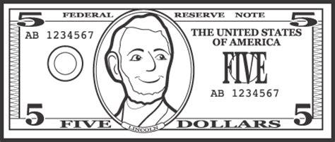 clip art five dollar bill 20 free Cliparts | Download ...