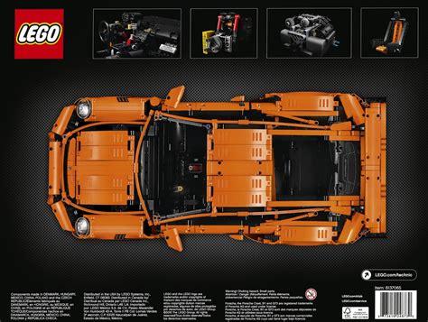 technic porsche instructions technic 42056 porsche 911 gt3 rs brickset set