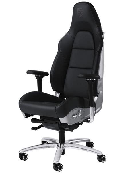 fauteuil baquet de bureau fauteuil de bureau porsche en cuir
