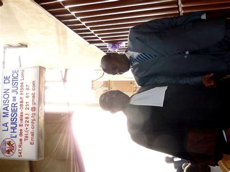 huissier de justice chambre nationale inauguration de la maison de l huissier de justice à lomé