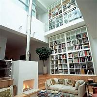 interesting contemporary closet design Interesting Home Library Designs for Modern Homes ...