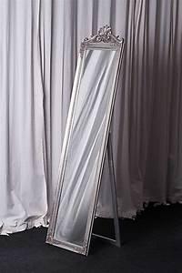 Standspiegel Antik Weiß : standspiegel 180 x 45 cm barock antik wandspiegel spiegel landhaus ebay ~ Indierocktalk.com Haus und Dekorationen
