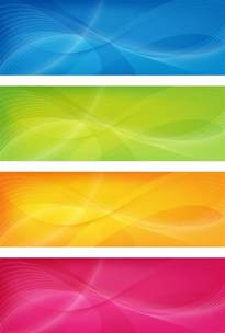 design banner colorful banners vector vector graphics