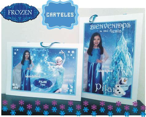 IDENTIKID Frozen Banderines Cartel de Bienvenida