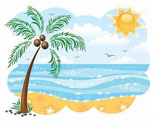 Beach Sunset Clipart | Clipart Panda - Free Clipart Images