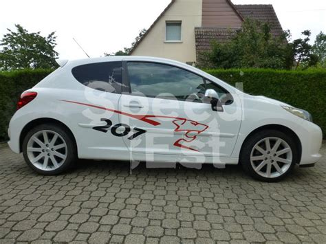 siege 207 rc peugeot 207 rc speedest auto